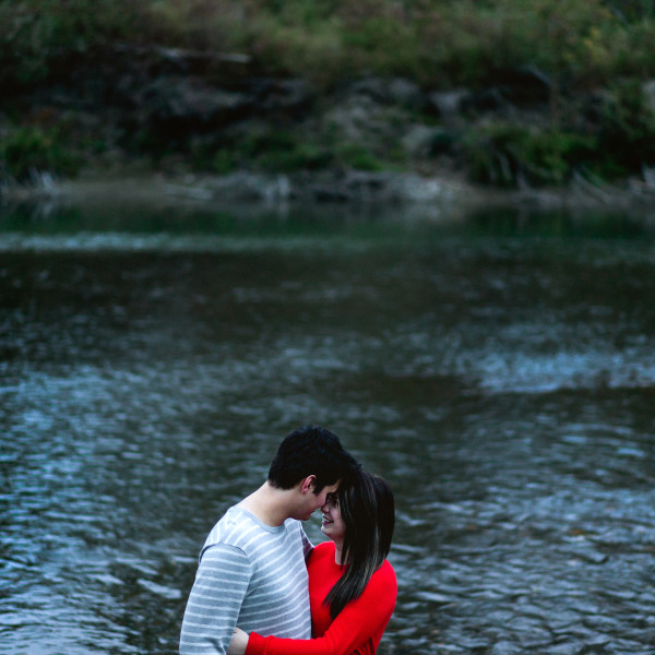 Kelsey + Clive   Edmonton fall couples session